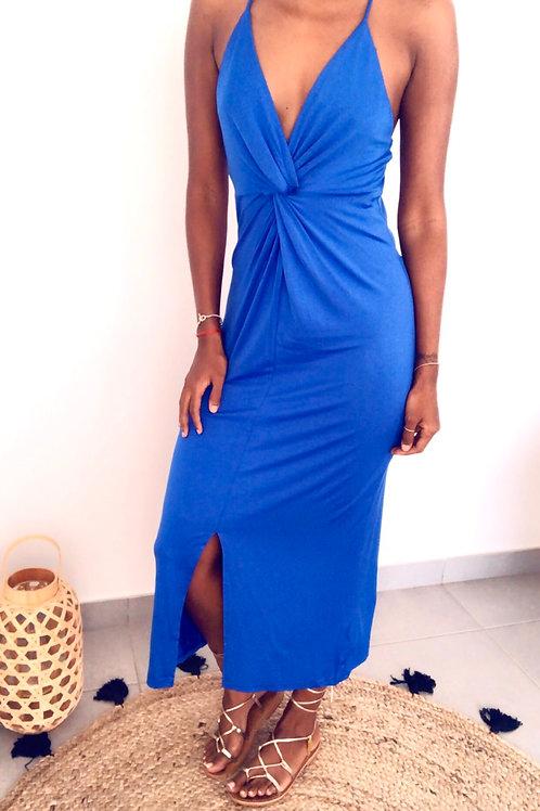 Robe Mia Bleu roi