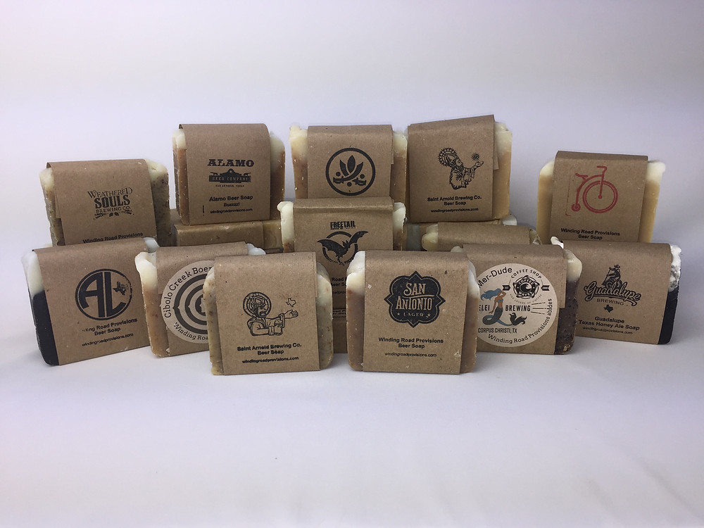 Check out our South Texas Craft Beer Soap 6 pack and 12 pack. Makes perfect gifts.