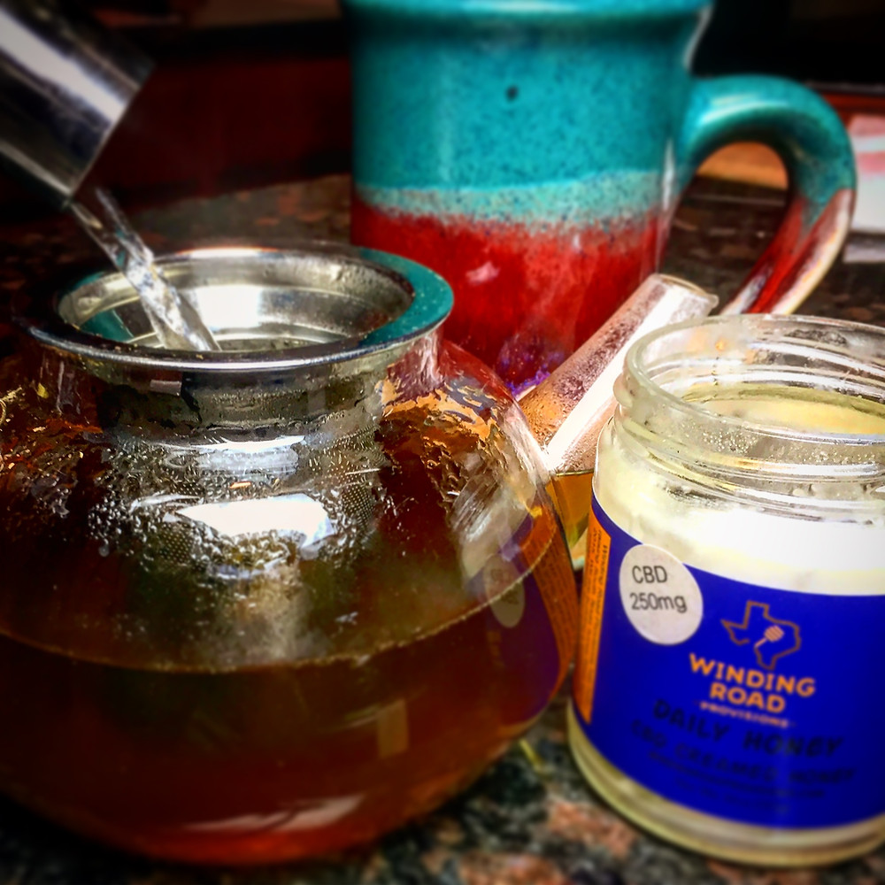 I start my day every morning with CBD Turmeric Daily Honey in warm almond milk and finish every day with CBD Creamed Daily Honey in herbal tea. The perfect beginning and end to my daily routine.