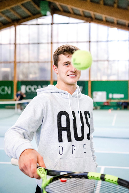 Damien Wenger, Schweizer Tennis-Nachwuchsprofi (ATP)