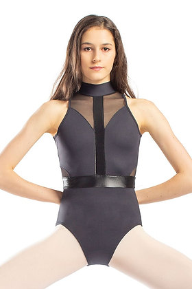 Adult High Neck Halter Leotard
