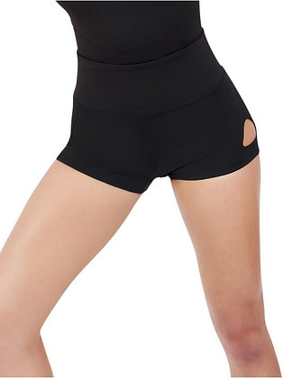 Dance Active Keyhole Short - Girls