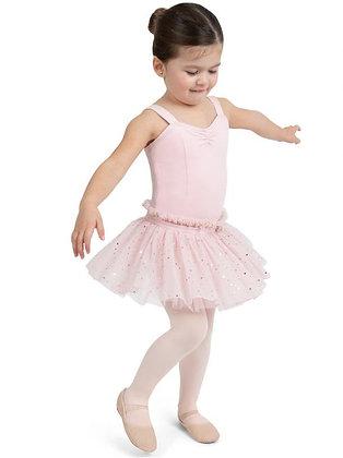Glitter Rose Sweetheart Tank Dress