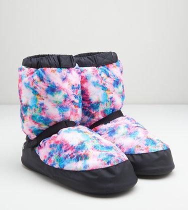 Printed Warm Up Booties