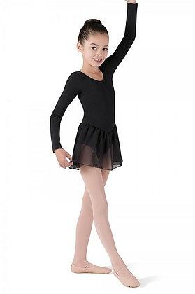 Long Sleeve Leo with Chiffon Skirt | Child