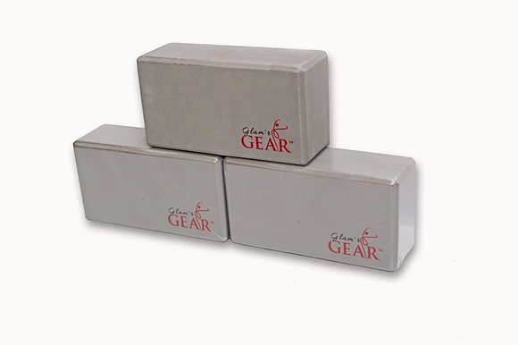 Glam'r Gear Non-Slip Yoga Block