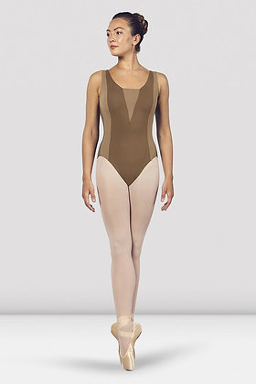 Contrast Panel Leotard