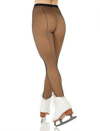 Fishnet Tight with Rhinestones | 00328AD