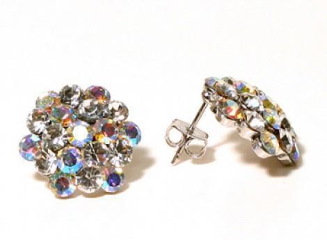 AB Cluster Earrings
