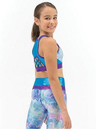 Gymnastics High Neck Bra Top | Child