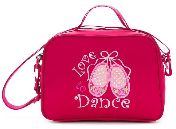 Love 2 Dance Square Tote