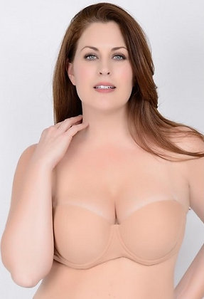"""Clearly Hooked"" Padded Molded Bra"