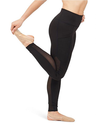 Dance Active Paneled Legging-Adults