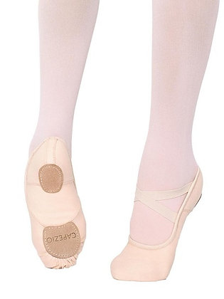 Hanami Canvas Ballet Shoe | Pink + Black | Adult