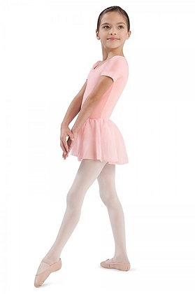 Short Sleeve Leotard with Chiffon Skirt | Child