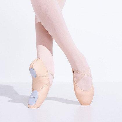 Juliet Leather Ballet Shoe   Child