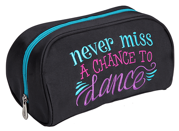 Never Miss A Chance to Dance Cosmetic Bag