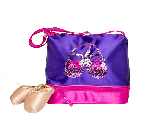 Satin & Sequins Gear Tote