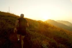 Solo Run Uphill