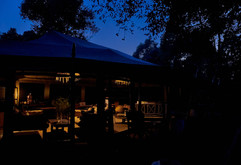 Emboo River lounge area at night