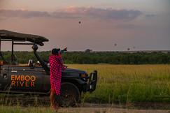 Hot Air Balloon ride & Champage breakfast