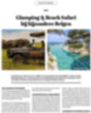 Live to Travel - Glamping and Beach Safa
