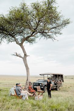Sundowners in the savanna
