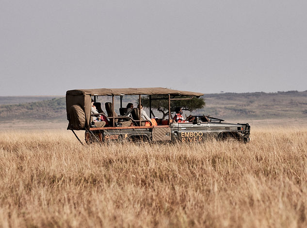 Emboo River game drive