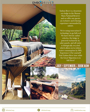 Nomad Magazine Emboo River feature page