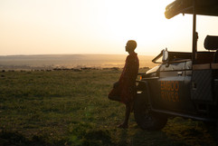 Sunrise during your game drive