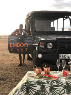 Game Drive followed by sundowner drinks
