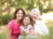 Grandmother With Daughter And Granddaugh