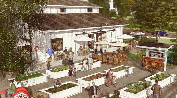 Urban Farm & Farm-to-Table Restaurant
