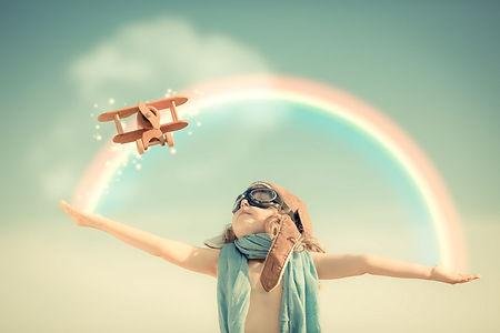 Criança Aviãozinho