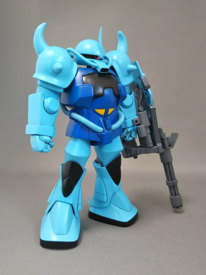 ベストメカコレクション「武装強化型グフ」完成