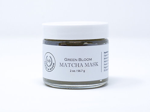 GREEN BLOOM Matcha Mask