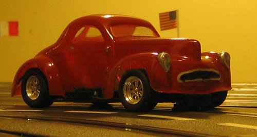 1941 Willys Coupe 1/32 body
