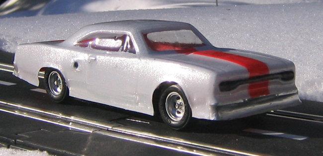 1970 Plymouth Roadrunner 1/32 body