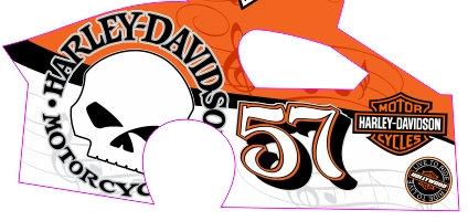 DirtSlinger Dirt Modified Body 57 Harley