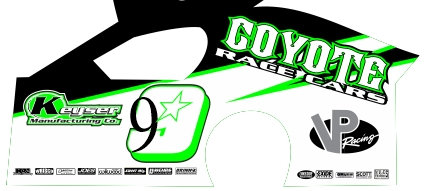DirtSlinger Dirt Modified Body 9 Coyote