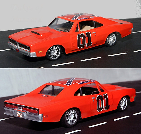 1969 Dodge Charger 1/32 body