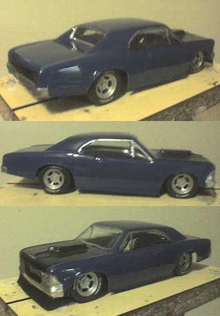 1966 Chevelle 1/32 body