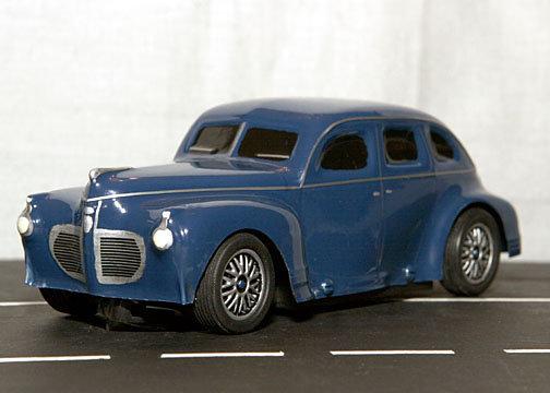 1941 Plymouth Sedan1/32 body