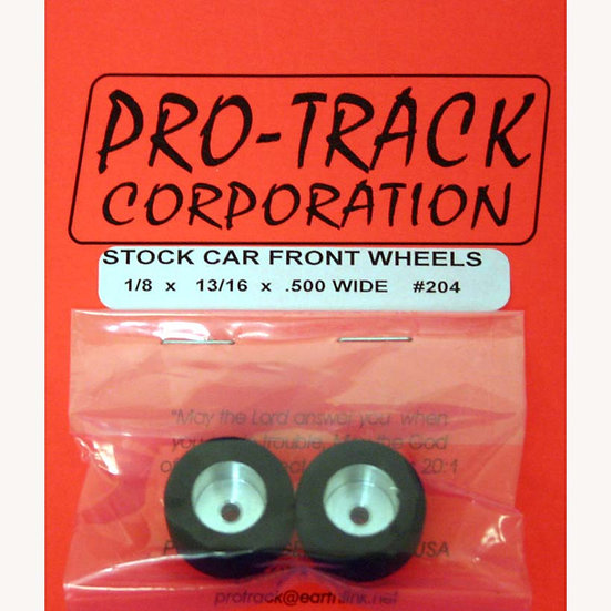 """1/8"""" Axle - 13/16"""" Dia - .5"""" wide fronts"""