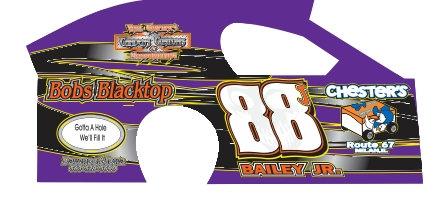 DirtSlinger Dirt Modified Body 88 Bailey