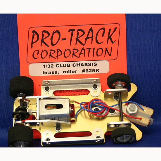 PROTRACK 1/32 CLUB CHASSIS BRASS RTR - No Body