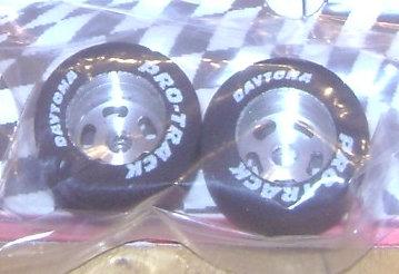 """1/8"""" Axle - 13/16"""" Dia - .5"""" wide fronts ProTrack Daytona Stockers"""