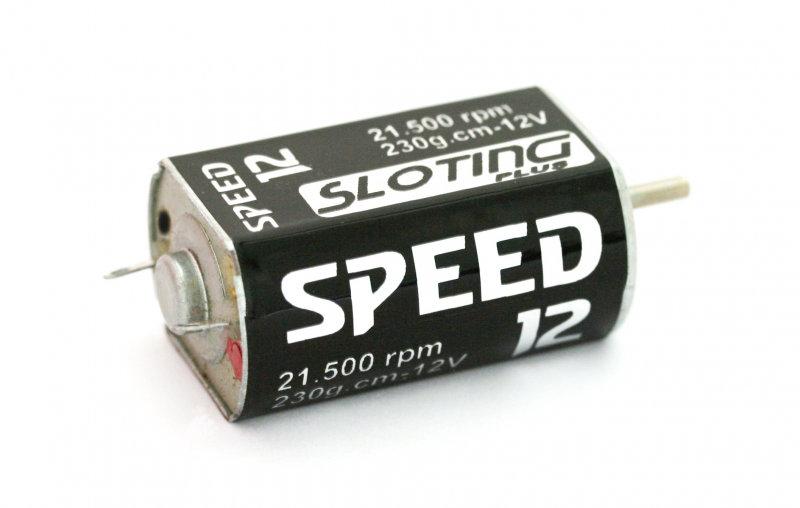 Sloting Plus Speed 12 Motor Black Point