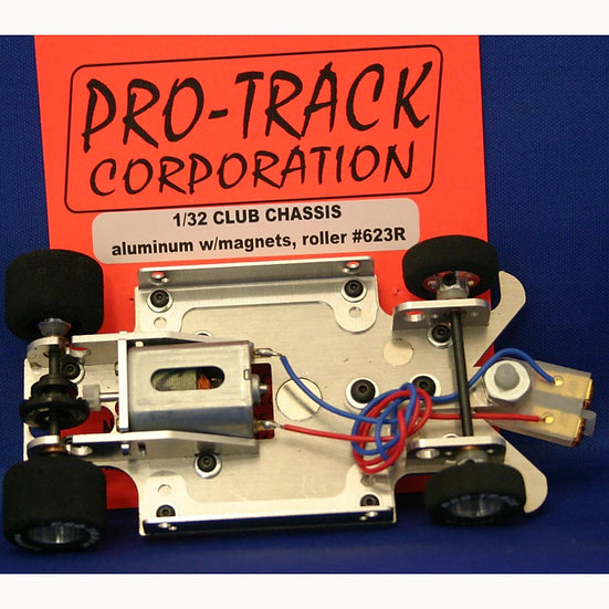 PROTRACK 1/32 CLUB CHASSIS ALUMINUM RTR - No Body