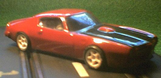 1972 Pontiac Firebird 1/32 body
